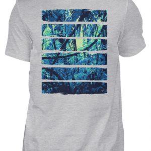 SpreeRocker Blue Jungle - Herren Shirt-17
