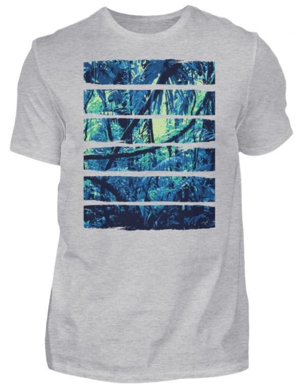 SpreeRocker Blue Jungle - Herren Shirt-17