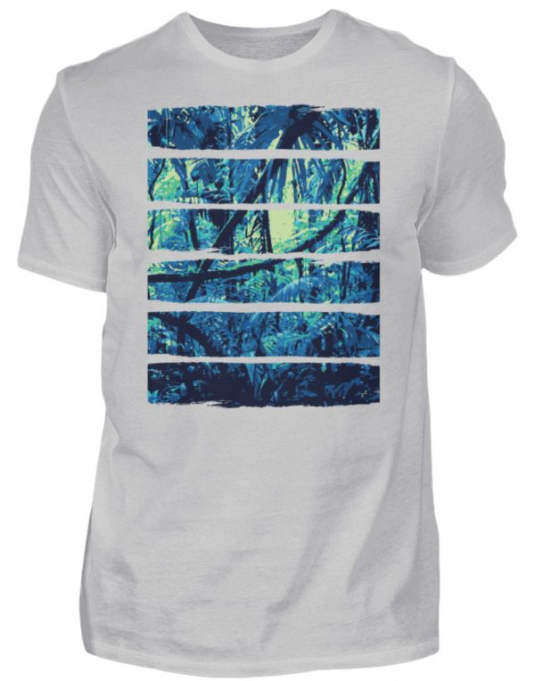 SpreeRocker Blue Jungle - Herren Shirt-1157