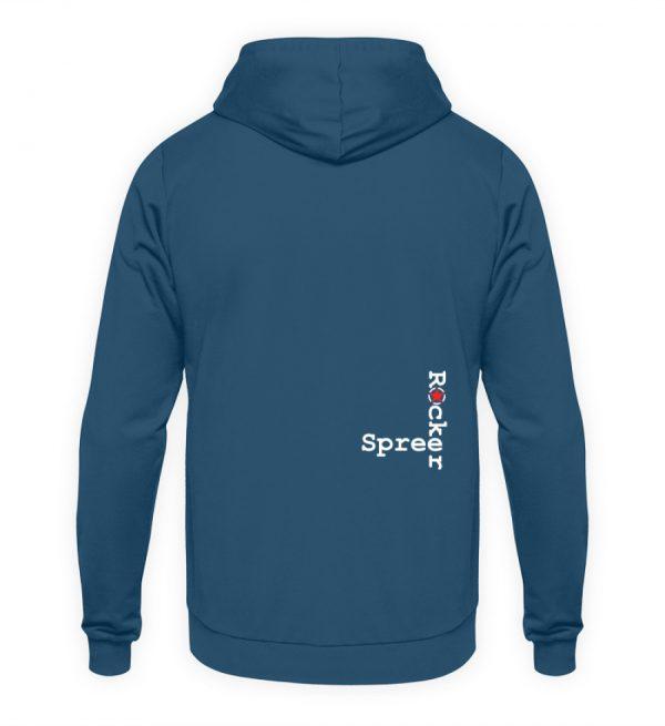 SpreeRocker Seventy Two weiss - Unisex Kapuzenpullover Hoodie-1461