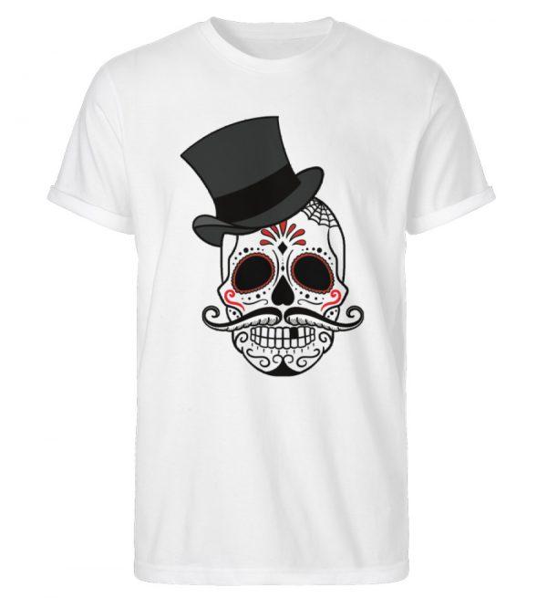 SpreeRocker Skull of Dead - Herren RollUp Shirt-3