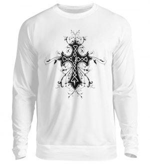 SpreeRocker - Black Cross - Unisex Pullover-1478