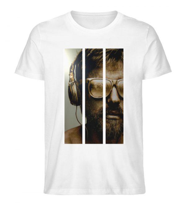 SpreeRocker - Gold Music Man - Herren Premium Organic Shirt-3