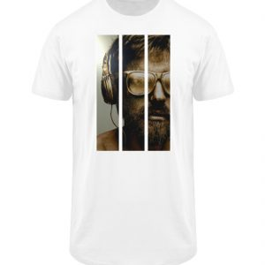 SpreeRocker - Gold Music Man - Herren Long Tee-3