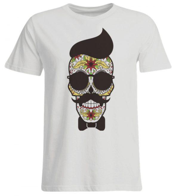 SpreeRocker Sunglasses Skull - Übergrößenshirt-1053