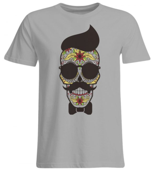 SpreeRocker Sunglasses Skull - Übergrößenshirt-645