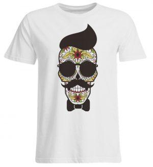 SpreeRocker Sunglasses Skull - Übergrößenshirt-3