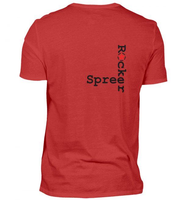 SpreeRocker Music Man - Herren V-Neck Shirt-4