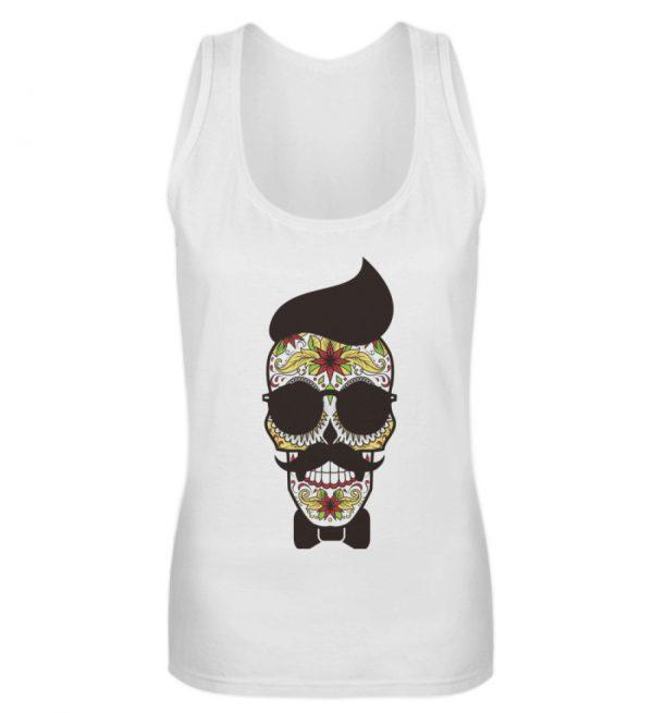SpreeRocker Sunglasses Skull - Frauen Tanktop-3