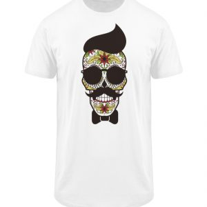 SpreeRocker Sunglasses Skull - Herren Long Tee-3