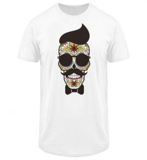 SpreeRocker Sunglasses Skull - Herren Long Tee-3