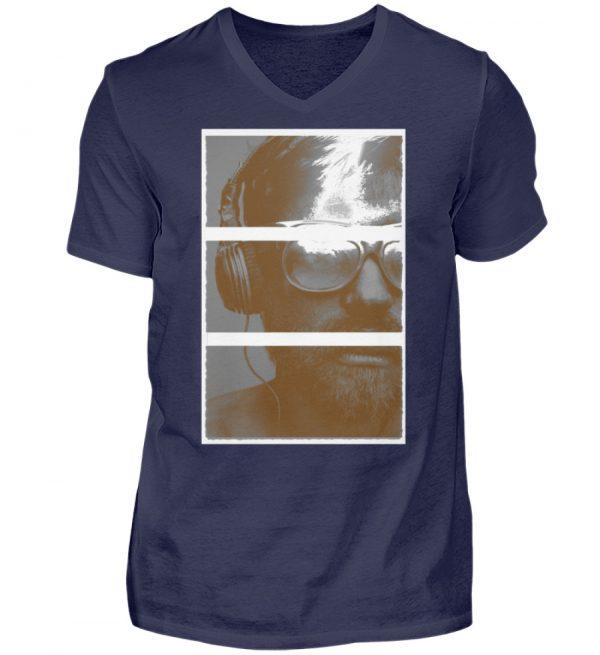 SpreeRocker Music Man - Herren V-Neck Shirt-198