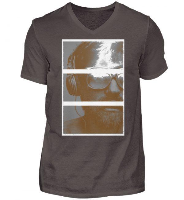 SpreeRocker Music Man - Herren V-Neck Shirt-2618