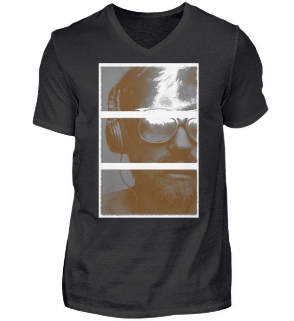 SpreeRocker Music Man - Herren V-Neck Shirt-16