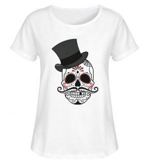SpreeRocker - Skull of Dead - Damen RollUp Shirt-3