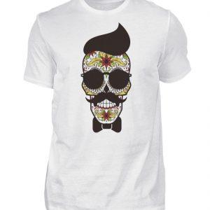 SpreeRocker Sunglasses Skull - Herren Shirt-3