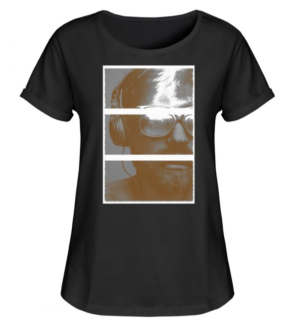 SpreeRocker Music Man - Damen RollUp Shirt-16