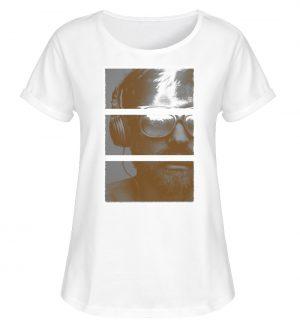 SpreeRocker Music Man - Damen RollUp Shirt-3