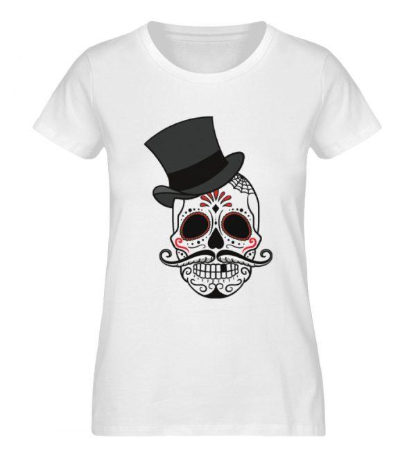 SpreeRocker - Skull of Dead - Damen Premium Organic Shirt-3