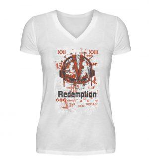 SpreeRocker Redemption - V-Neck Damenshirt-3