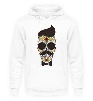 SpreeRocker Sunglasses Skull - Unisex Kapuzenpullover Hoodie-1478