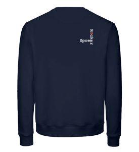 SpreeRocker - JUST GO - Unisex Organic Sweatshirt-6887