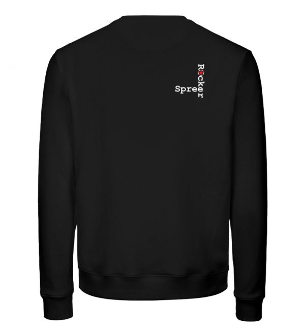 SpreeRocker - JUST GO - Unisex Organic Sweatshirt-16