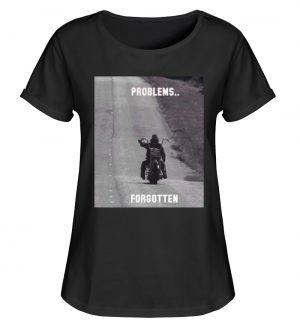 SpreeRocker - PROBLEMS...FORGOTTEN - Damen RollUp Shirt-16