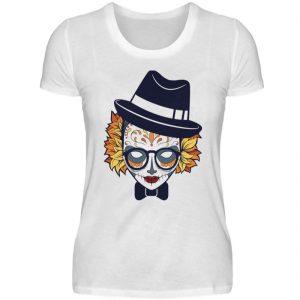SpreeRocker Lady Skull - Damenshirt-3