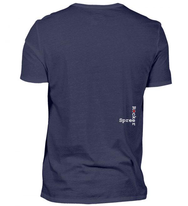 SpreeRocker Blond - Herren V-Neck Shirt-198