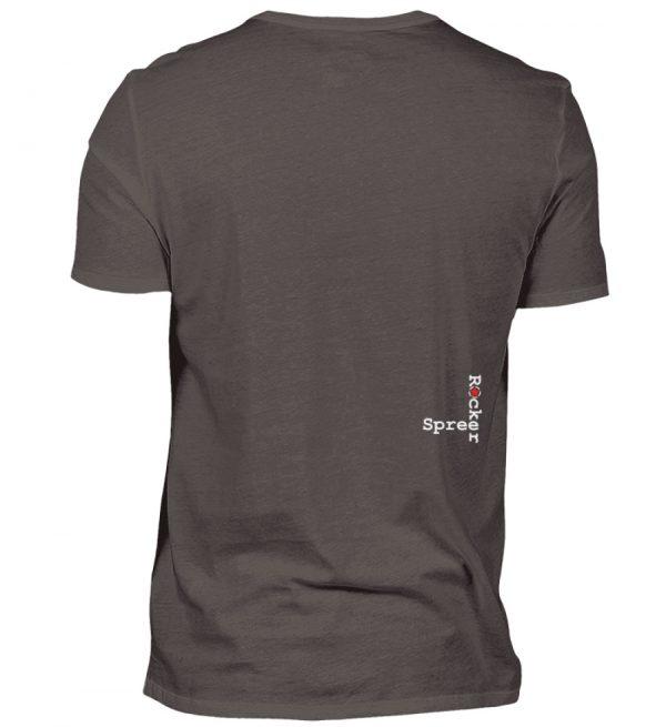 SpreeRocker Blond - Herren V-Neck Shirt-2618