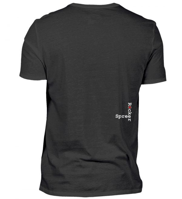 SpreeRocker Blond - Herren V-Neck Shirt-16