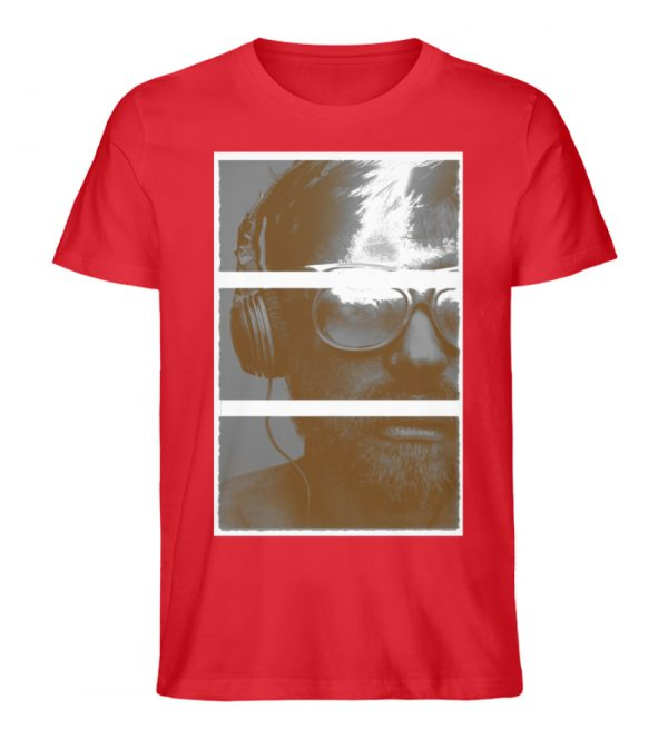 SpreeRocker Music Man - Herren Premium Organic Shirt-6882