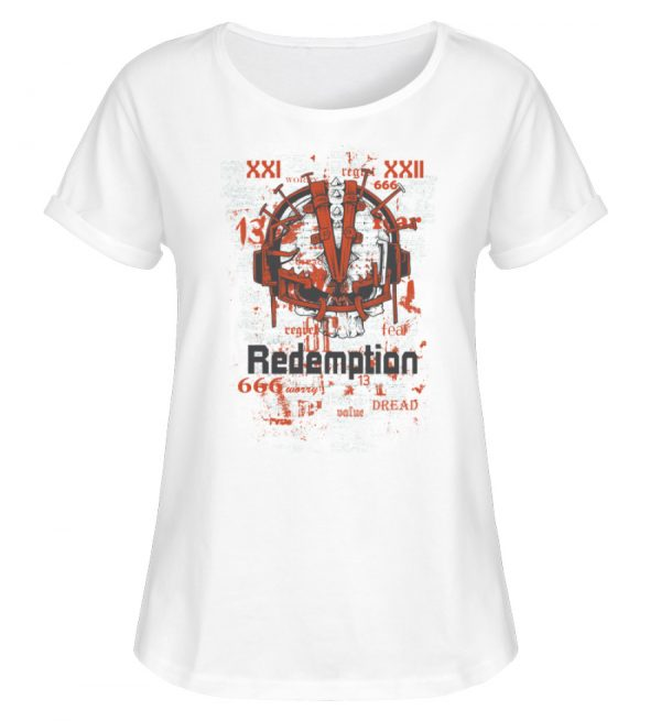 SpreeRocker Redemption - Damen RollUp Shirt-3