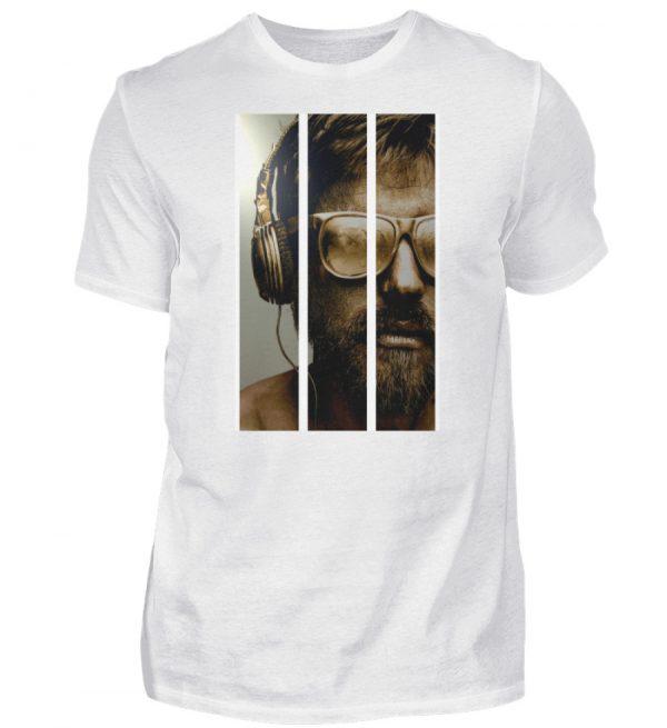 SpreeRocker - Gold Music Man - Herren Shirt-3