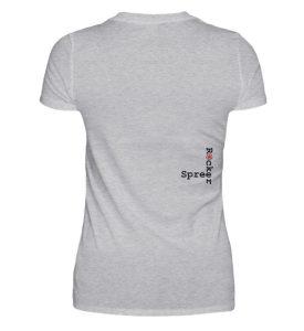 SpreeRocker - Black and Red - Damenshirt-17