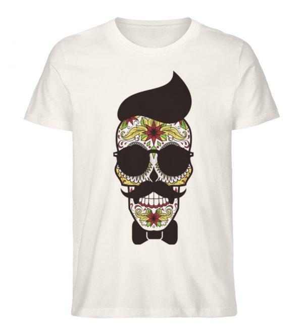 SpreeRocker Sunglasses Skull - Herren Premium Organic Shirt-6881