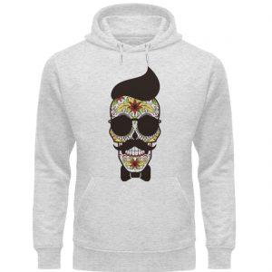 SpreeRocker Sunglasses Skull - Unisex Organic Hoodie-6892