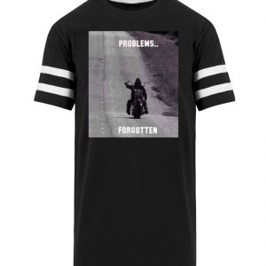 SpreeRocker - PROBLEMS...FORGOTTEN - Striped Long Shirt-16