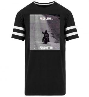 SpreeRocker - PROBLEMS...FORGOTTEN - Striped Long Shirt-16