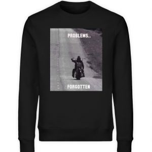 SpreeRocker - PROBLEMS...FORGOTTEN - Unisex Organic Sweatshirt-16