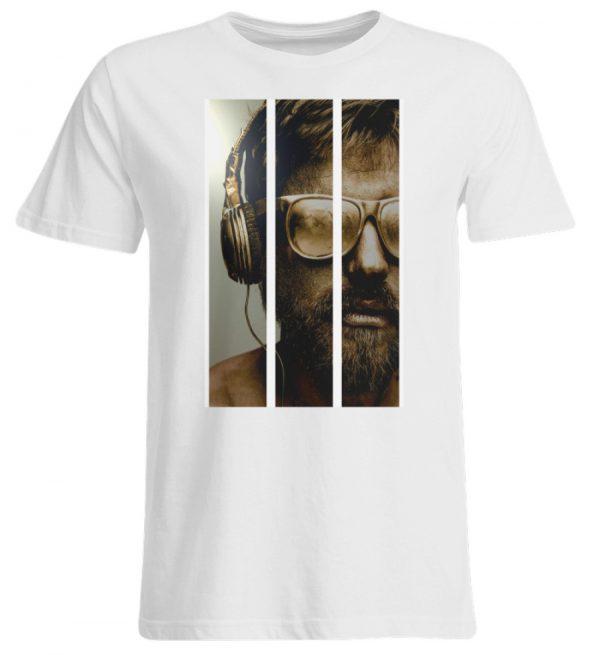 SpreeRocker - Gold Music Man - Übergrößenshirt-3
