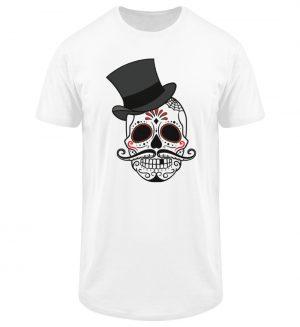 SpreeRocker - Skull of Dead - Herren Long Tee-3