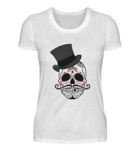 SpreeRocker - Skull of Dead - Damenshirt-3