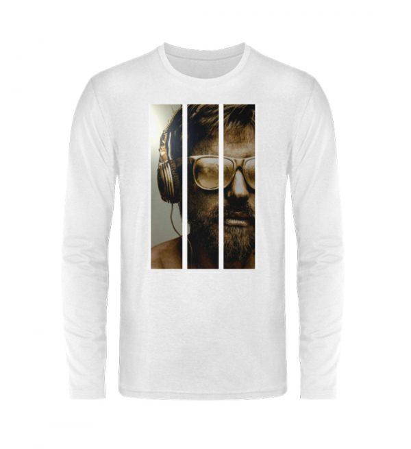 SpreeRocker - Gold Music Man - Unisex Long Sleeve T-Shirt-3