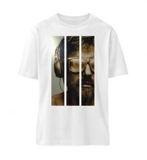 SpreeRocker - Gold Music Man - Organic Oversized Shirt ST/ST-3