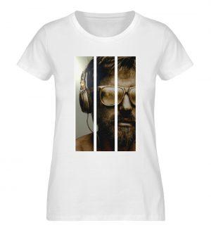 SpreeRocker - Gold Music Man - Damen Premium Organic Shirt-3