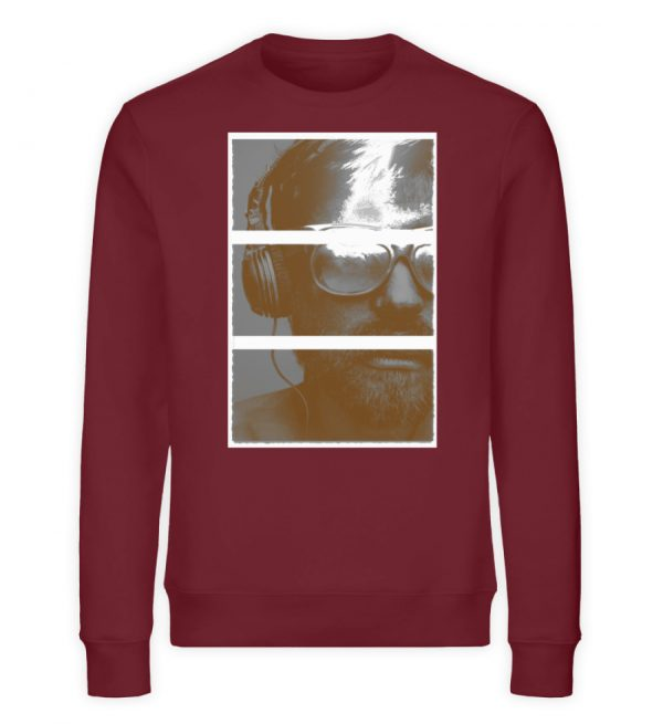 SpreeRocker Music Man - Unisex Organic Sweatshirt-6883