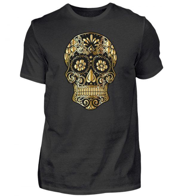 SpreeRocker® - Golden Skull - Herren Shirt-16