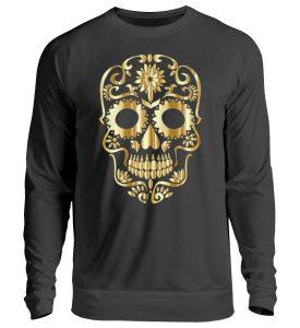 SpreeRocker® - Golden Skull 1 - Unisex Pullover-1624